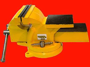 MasterTool 07-0215 тиски слесарные поворотные 150мм