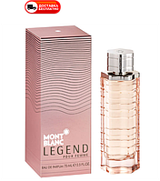 Женская парфюмированная вода MONT BLANC LEGEND POUR FEMME EDP 75 ML
