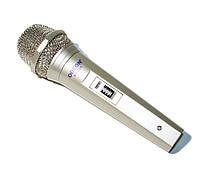 Микрофон Odeon SD-200 Silver, кабель 3.5 м