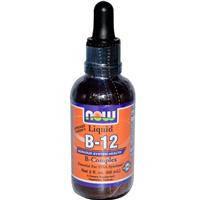Витамин В12, Now Foods, в коллоидной форме,  60 мл