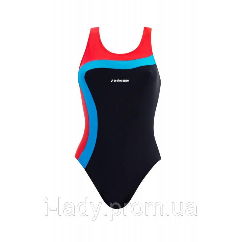 f1cfdeb7c43c Спортивный женский купальник для бассейна Sesto-Senso - Интернет магазин  женской одежды, купальников и