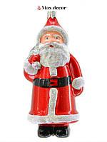 """Пластиковая формовая игрушка """"Санта Клаус"""" (высота 13 см.)"""