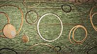 Шенилл Турин зеленый обивочная ткань