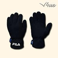 Зимние перчатки Fila флисовые
