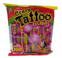 Жевательная резинка Krazy tatoo (100 шт)