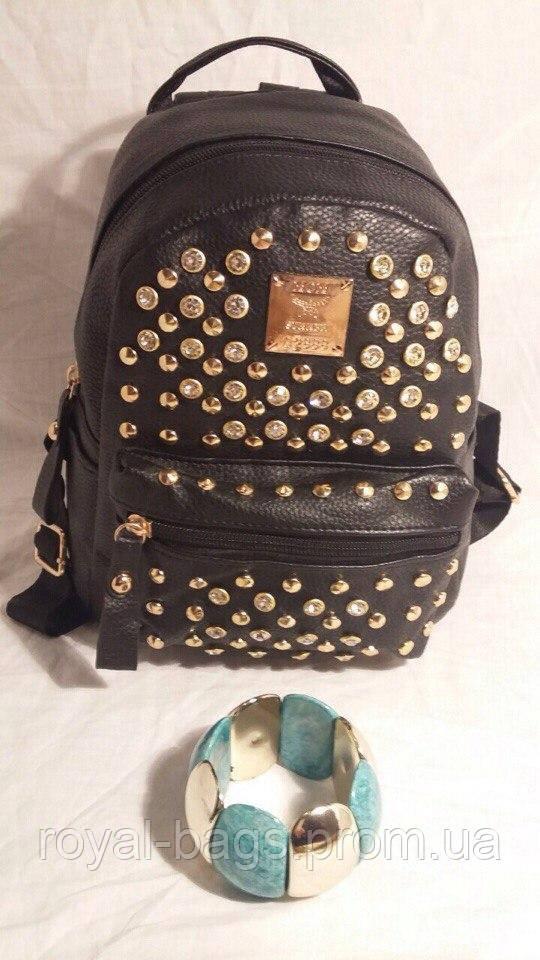 Рюкзак MOM Черный Mini
