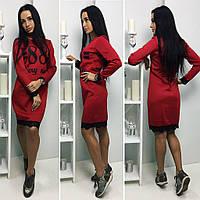 """Платье """"VERI NICE"""", красивое стильное молодежное платье длины миди. Разные цвета и размеры., фото 1"""