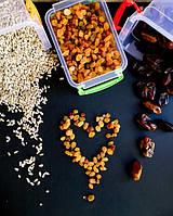 Орехи и сухофрукты. Полезные перекусы.