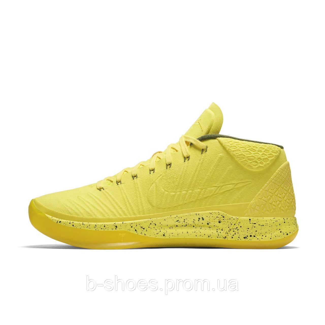 Мужские баскетбольные кроссовки Nike Kobe A.D.Mid Fearless (Yellow)