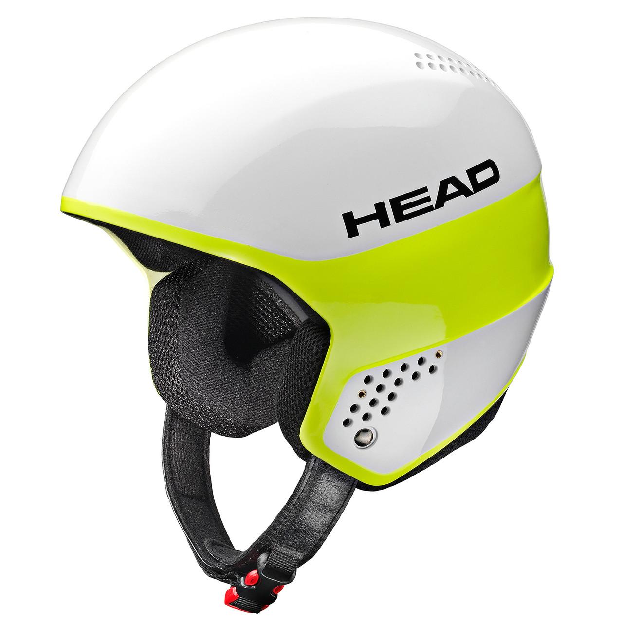 Горнолыжный шлем Head Stivot white/lime (MD)