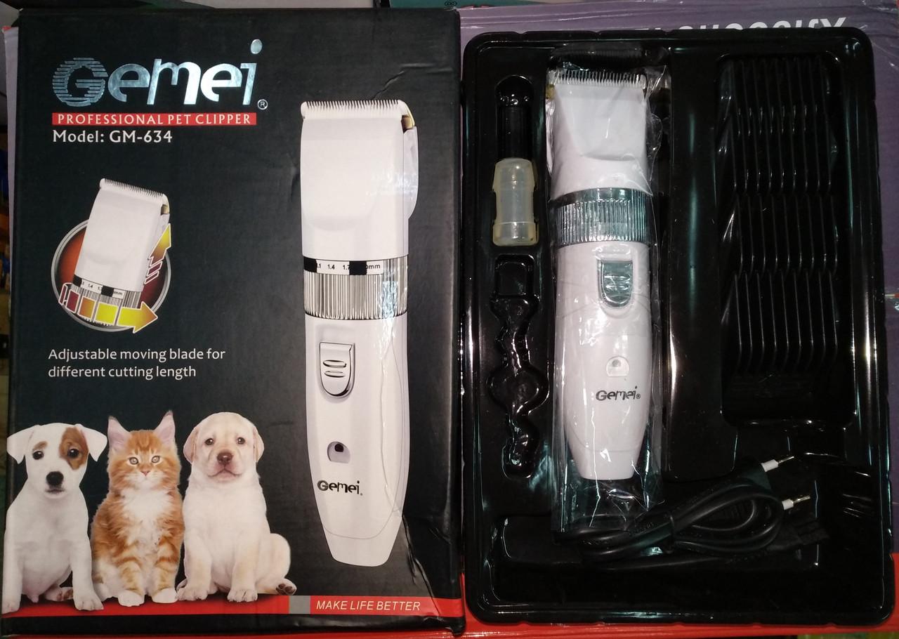 Машинка для стрижки собак (животных) Gemei GM-634