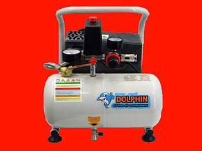 Безмасляный компрессор на 5 литров Dolphin DZW750D005