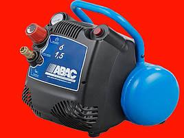 Безмасляный компрессор на 6 литров, 1.1 кВт ABAC START 015