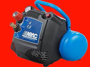 Безмасляный компрессор на 6 литров, 1.1 кВт ABAC Start O15