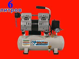 Безмаслянный компрессор на 6 литров Dolphin DZW400AF006