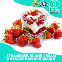 Ароматизатор TPA/TFA  Strawberries and Cream ( Клубника со сливками ) 5 мл