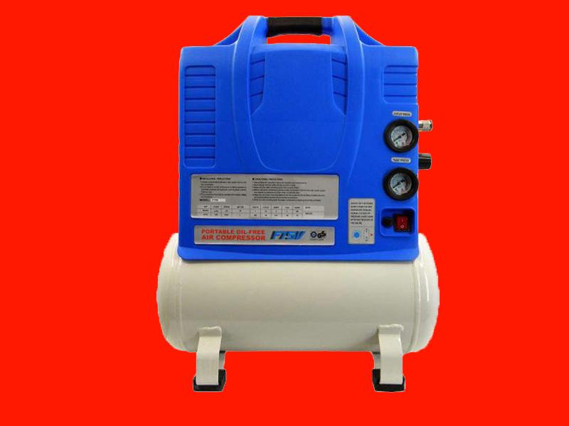 Безмасляный асинхронный компрессор на 22 литра Dolphin F75V