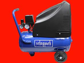 Безмасляный компрессор на 24 литра Scheppach HC25o
