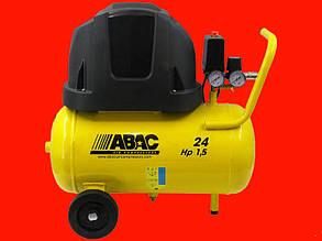 Безмасляный компрессор на 24 литра ABAC Pole Possition B15