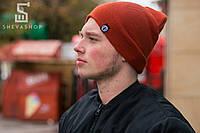 Зимняя шапка Протест морковная