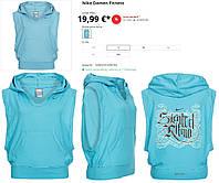 100% Оригинал Фитнес худи жилет с капюшоном безрукавка Nike DryFit
