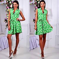 Платье мини, лёгкое короткое платье. Разные размеры., фото 1