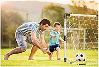 Набор для игры в футбол.ФУТБОЛЬНЫЕ ВОРОТА!.+ МЯЧ