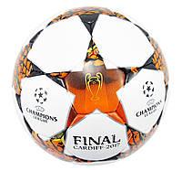 М'яч футбольний PU Champions League FB-6450 розмір 5