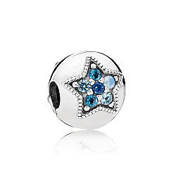 "Клипса ""Яркая звезда"" Pandora, 796380NSBMX"