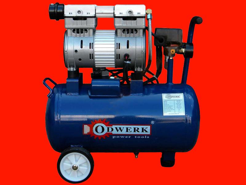 Двухцилиндровый безмасляный компрессор на 24 литра Odwerk TOF-7524L