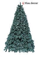 Елка искусственная литая Буковельская голубая (высота 1,5 м)
