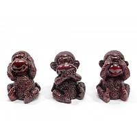 Фигурки три обезьяны Не вижу, Не слышу, Не говорю