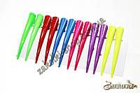 Заколка стрела для волос металлическая, длина: 7 см, 12 штук в упаковке