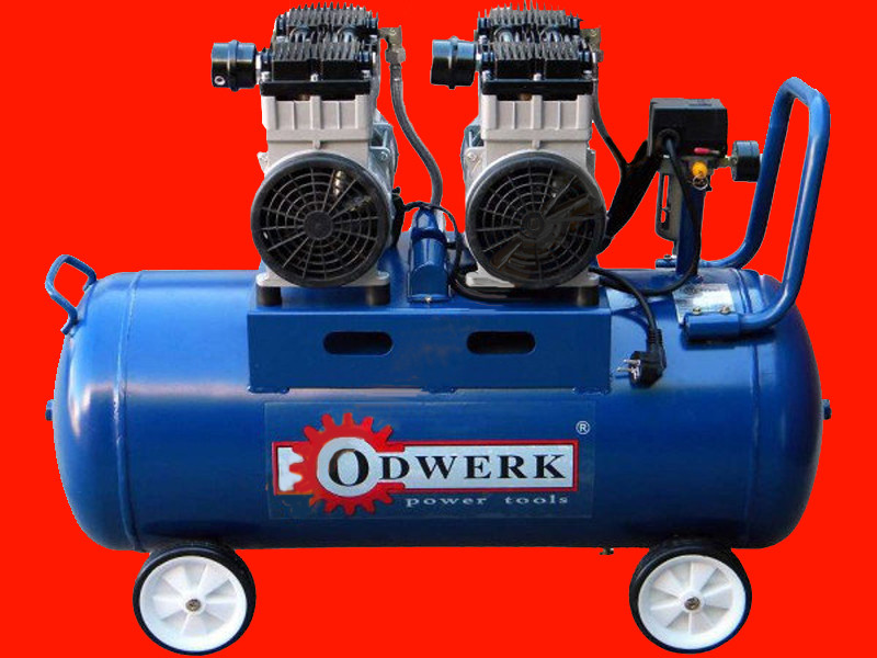 2-х цилиндровый безмасляный компрессор на 90 литров Odwerk TOF-1190