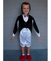 """Карнавальный костюм из атласа """"Пингвин"""", размер 3-6 лет"""