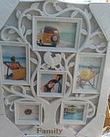 Фоторамка колаж Дерево на 6 фото