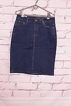 Джинсовая юбка больших размеров Miss Cherry (код 158)размеры 30-42.