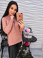 Ультрамодный свитер с разрезами по бокам , фото 1