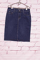 Юбка Джинсовая  женская батал Miss Cherry (код 159-1) 30 -42 размеры