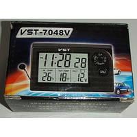 Автомобильные часы,термометр, вольтметр 7048V