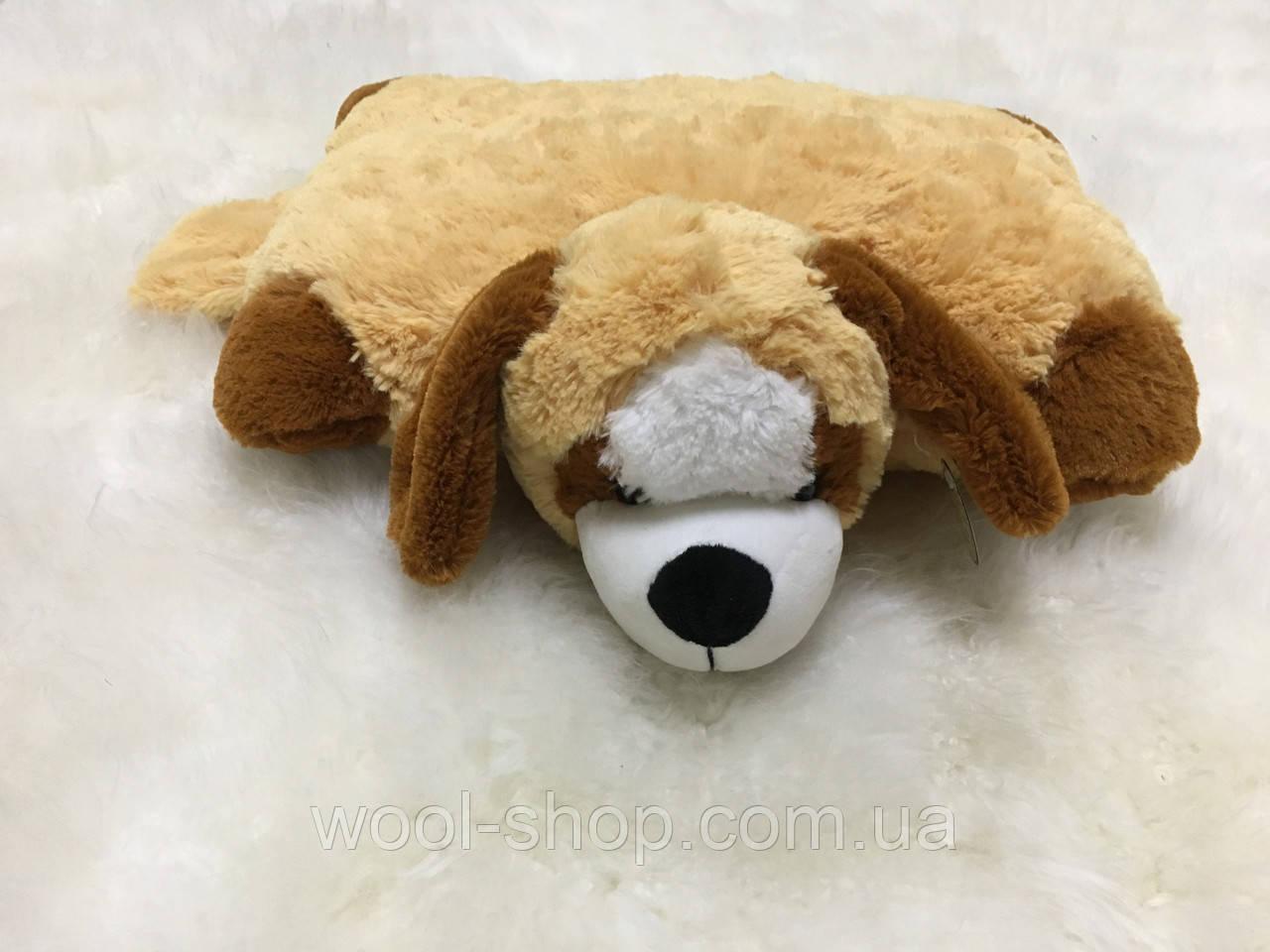 Подушка-игрушка пес спасатель большой