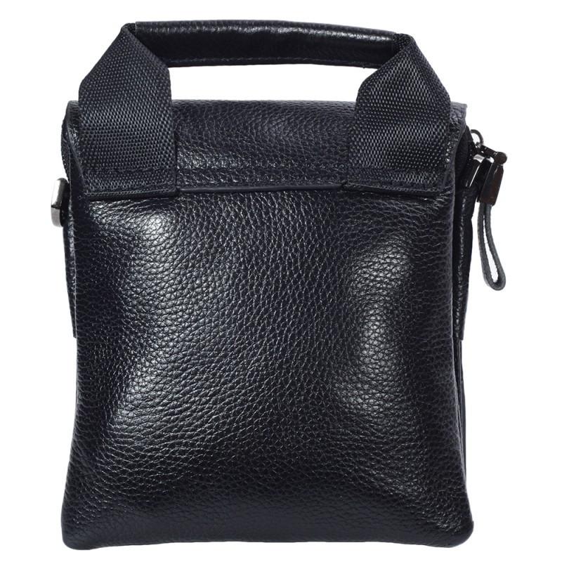 15d82c1716d7 ... Небольшая мужская кожаная сумка-барсетка черная Tofionno TF003011-11 3  ...