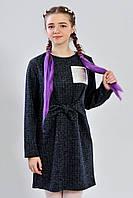 Подростковое трикотажное платье для девочки модного дизайна
