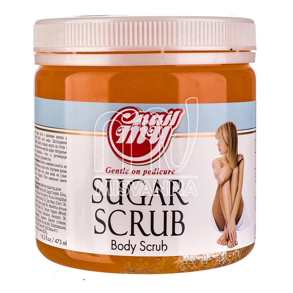 Скраб сахарный My Nail Sugar Scrub мандарин, 473 мл