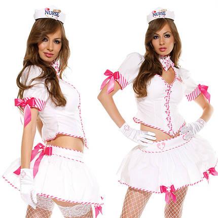 Наряд медсестры Nurse Eye Candy Sexy (ForPlay США), фото 2
