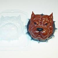 Пластиковая форма для мыла Серьйозный пес