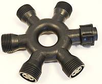 Аксессуар для гирлянды DELUX Connector IP44 6 контактный. кругл.