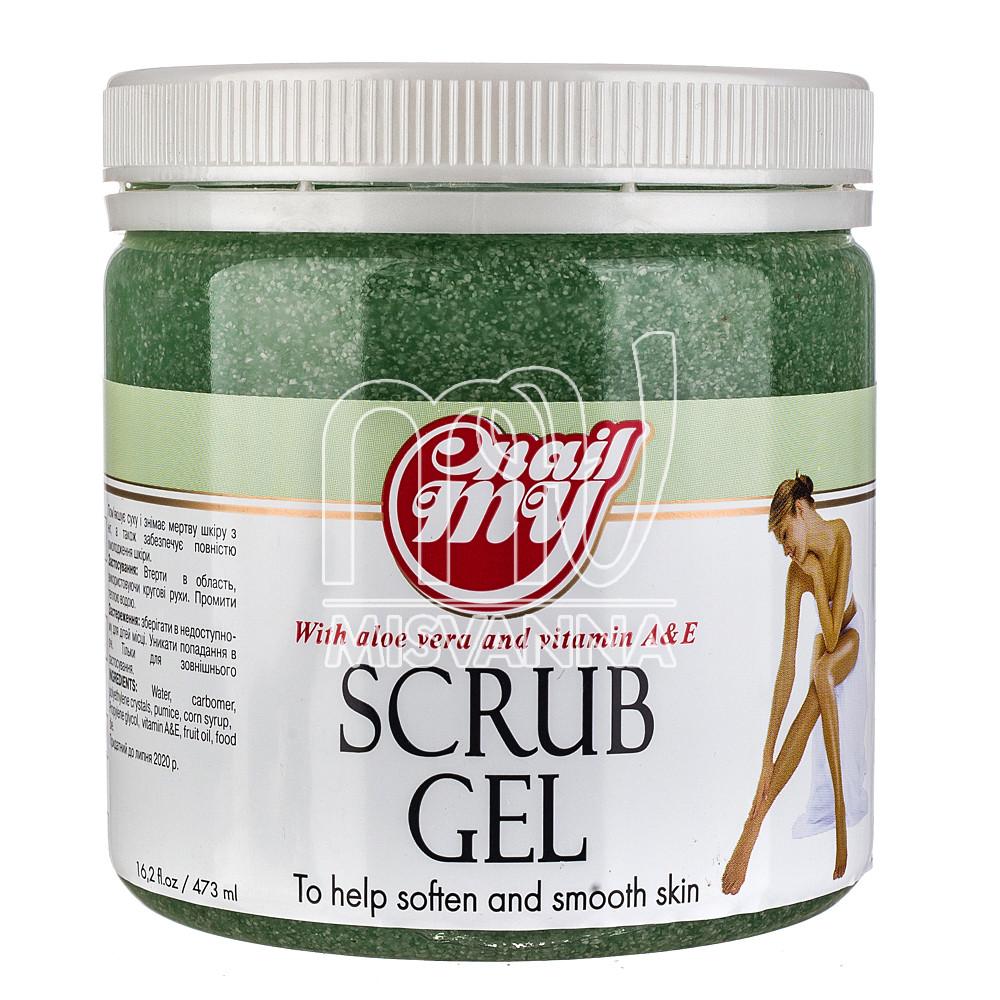 Скраб сахарный My Nail Scrub Gel дыня с огурцом, 473 мл