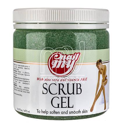 Скраб сахарный My Nail Scrub Gel дыня с огурцом, 473 мл, фото 2