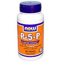 Витамин В6, Now Foods,   50 мг, 60 таблеток